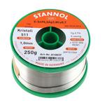 Stannol 1mm Wire Lead Free Solder, +217°C Melting Point