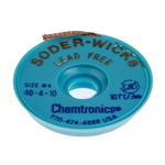 Chemtronics 3m Lead Free Desoldering Braid, Width 2.8mm