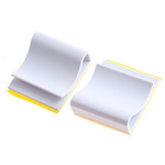 Richco Cable Clip White Self Adhesive Noryl C Clamp