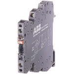 ABB Optocoupler, Max. Forward 24 V, Max. Input 5.4 mA, 70mm Length, DIN Rail Mounting Style