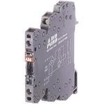 ABB Optocoupler, Max. Forward 230 V, Max. Input 4 mA, 70mm Length, DIN Rail Mounting Style