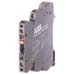 ABB Optocoupler, Max. Forward 230 V, Max. Input 11.5 mA, 25 mA, 70mm Length, DIN Rail Mounting Style