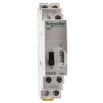 2P Impulse Relay With NO/NC Contacts, 16 A, 6 V dc, 12 V ac Coil