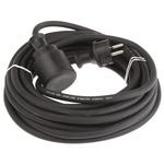 Kopp 10m Power Cable, CEE 7/3, Schuko to CEE 7/4, Schuko, 10 A, 250 V