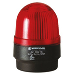 Werma BM 202 Red Xenon Beacon, 24 V dc, Blinking, Wall Mount