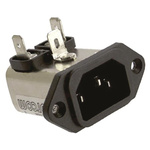 TE Connectivity EMI Filter - 39.1mm Length, 10 A, 250 V ac