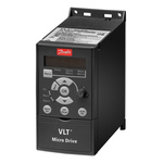 Danfoss VLT FC51 Inverter Drive, 3-Phase In, 0 → 200 (VVC+ Mode) Hz, 0 → 400 (U/f Mode) Hz Out, 0.37 kW,
