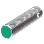 Pepperl + Fuchs M12 x 1 Inductive Sensor - Barrel, 2 mm Detection, IP67, M12 - 4 Pin Terminal