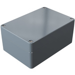Rose Aluminium Standard, Grey Die Cast Aluminium Enclosure, IP66, 200 x 140 x 90mm Lloyds Register, Maritime Register,