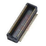 KYOCERA, 5846 0.4mm Pitch 50 Way 2 Row Right Angle PCB Header, Surface Mount, Screw, Solder Termination