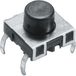 Tactile Switch, SPST-NO 50 mA @ 42 V dc