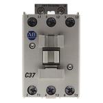 Allen Bradley 100 Series 100C 3 Pole Contactor - 37 A, 24 V ac Coil, 3NO, 18.5 kW