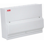 ABB 4 Way Metal Consumer Unit, 100A, IP30 Housemaster