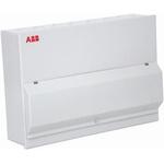 ABB 8 Way Split Load Metal Consumer Unit, 100A, IP30 Housemaster