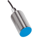 Sick M30 x 1.5 Inductive Proximity Sensor - Barrel, PNP Output, 20 mm Detection, IP67, Cable Terminal