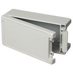 Bopla Bocube Alu, Grey Aluminium Enclosure, IP66, IP68, IP69, Flanged, 259 x 128 x 90mm