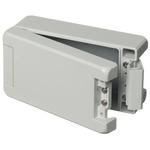 Bopla Bocube Alu, Grey Aluminium Enclosure, IP66, IP68, IP69, Flanged, 159 x 86 x 60mm