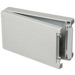 Bopla Bocube Alu, Grey Aluminium Enclosure, IP66, IP68, IP69, Flanged, 299 x 173 x 60mm