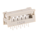 Harting 10-Way IDC Connector Plug for  Through Hole Mount, 2-Row