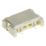 JST, LEB 4mm Pitch 2 Way 1 Row Right Angle PCB Socket, Surface Mount, Solder Termination