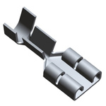 TE Connectivity, FASTON .250 Uninsulated Spade Connector, 6.35 x 0.81mm Tab Size, 1mm² to 2.5mm²