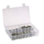 RS PRO Grease Nipple Kit Contains H1 Straight 6x1 mm (x50)