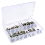RS PRO Grease Nipple Kit Contains H1 Straight 8x1 mm (x50)