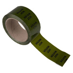 RS PRO Green PP, Vinyl Pipe Marking Tape, text Hot Water, Dim. W 50mm x L 33m