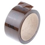RS PRO Brown PP, Vinyl Pipe Marking Tape, text Oil, Dim. W 50mm x L 33m