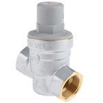 RS PRO Pressure Reducing Valve, 3/4 in Screwed Iron Female