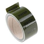 RS PRO Green PP, Vinyl Pipe Marking Tape, text Water, Dim. W 50mm x L 33m