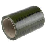 RS PRO Green PP, Vinyl Pipe Marking Tape, text Water, Dim. W 150mm x L 33m
