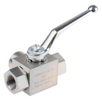 RS PRO Steel Line Mounting Hydraulic Ball Valve G 1/2