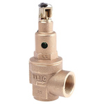 Nabic Valve Safety Products 2.5bar Pressure Relief Valve With Female BSP 3/4 in BSP Female Connection and a BSP 3/4