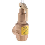 Nabic Valve Safety Products 4bar Pressure Relief Valve With Female BSP 3/4 in BSP Female Connection and a BSP 3/4