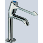 Pegler Yorkshire Quarter Turn Extended Lever Handle Tap, High Neck Cold Sink Tap, 1/2 in BSP