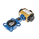 RS PRO Pneumatic Actuated Butterfly Valve EPDM Liner, 2in Pipe Size