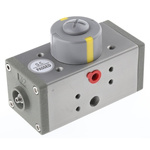 RS PRO Double Acting Actuator Valve Extruded Aluminium Alloy 5 Way, 1/8in Pipe Size