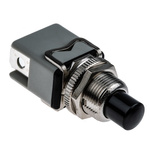 APEM 1NO Momentary Push Button Switch, 12.2 (Dia.)mm, Panel Mount, 250V ac