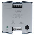 Legrand Linear DIN Rail Panel Mount Power Supply 12V dc Output Voltage, 5A Output Current, 60W