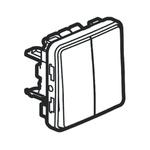 Legrand NO/NC Latching Push Button Switch, IP55, PCB, 250V