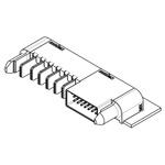 Molex, EXTreme Ten60Power, 46437 30 Way 3 Row Right Angle Heavy Duty Power Connector, Through Hole, Solder Termination