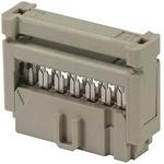 HARTING 6-Way IDC Connector Socket, 2-Row