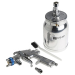 RS PRO 1/4in Air Inlet (BSP) Spray Gun, With 2 mm Tip