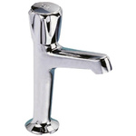 Pegler Yorkshire Twist Handle Tap, High Neck Pillar Sink Tap, 1/2 in BSP