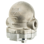 Spirax Sarco 14.6 bar Stainless Steel Ball Float Steam Trap, 3/4 in BSP