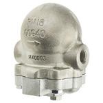 Spirax Sarco 14.6 bar Stainless Steel Ball Float Steam Trap, 1/2 in BSP