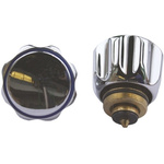 Oracstar Chrome Adapt-A-Tap Conversion Kit for use with 1/2 in Tap, 3/4 in Tap