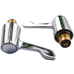 Oracstar Chrome Adapt-A-Tap Lever Conversion Kit for use with 1/2 in Tap