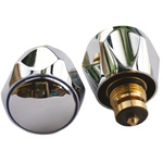 Oracstar Small Chrome Adapt-A-Tap Conversion Kit for use with 1/2 in Tap